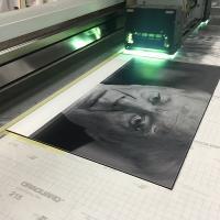 Фотография на ПВХ методом УФ печати